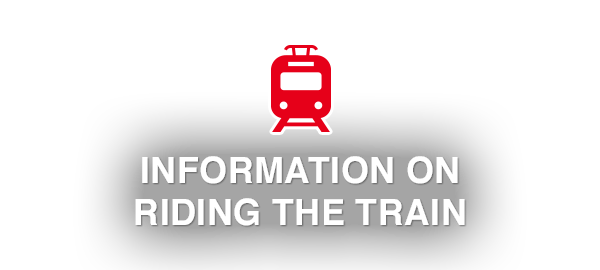 Information on Riding the Train